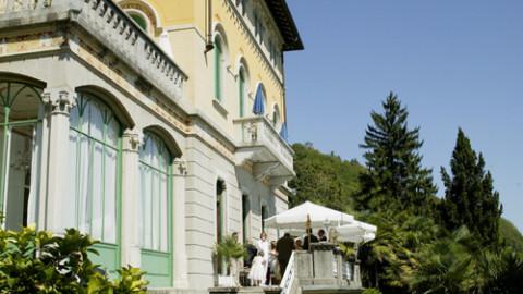 Villa Volpi Lake Maggiore Wedding