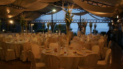 Lake Maggiore Villa Rusconi Cerici Gala dinner