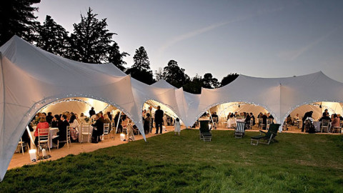 Marquee & furniture hire on Lake Maggiore