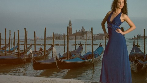 Photo shoot on Lake Maggiore
