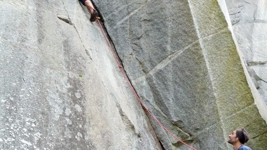 Rock climbing Lake Maggiore