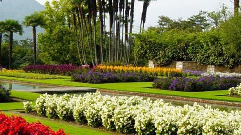Villas and gardens Lake Maggiore