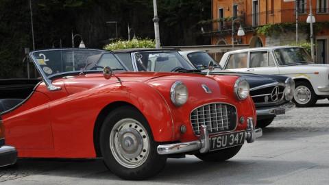 Vintage car tour Lake Maggiore