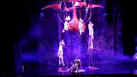 Acrobatics Aerial performance Lake Maggiore