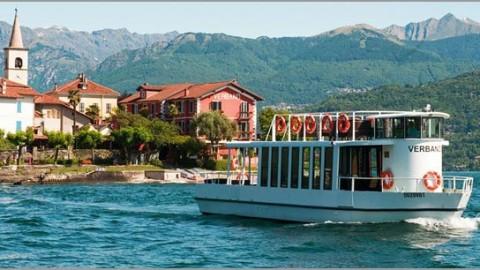 Private boat hire lake Maggiore