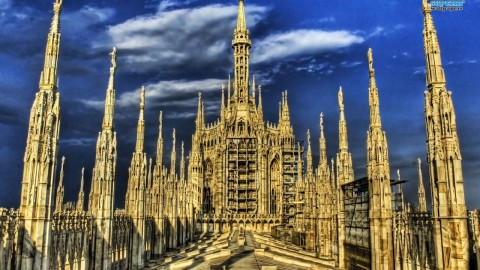 Milan from Lake Maggiore