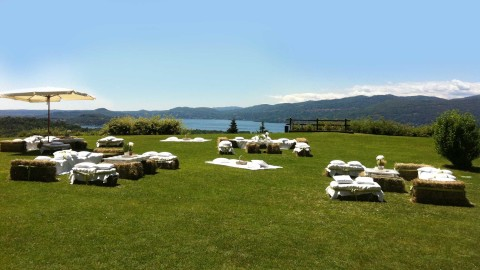 villa lake maggiore country chic event