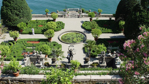 Garden tours on Lake Maggiore for EXPO