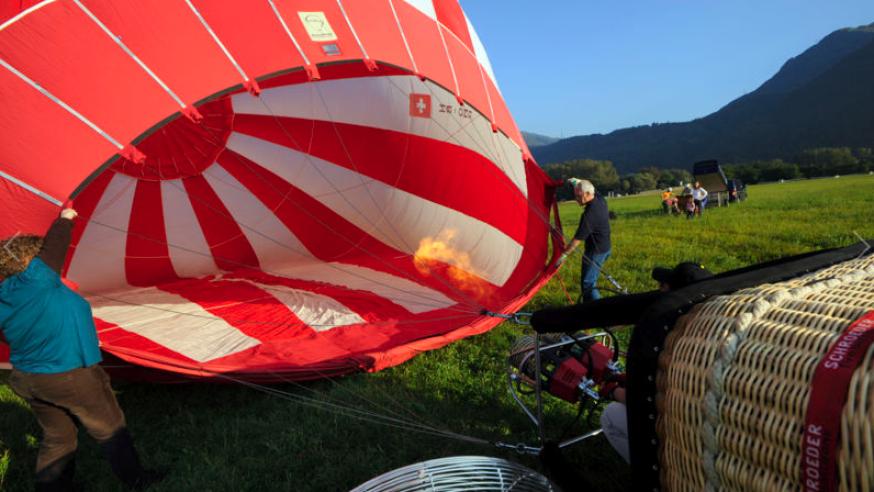 Hot-Air Balloons Lake Maggiore