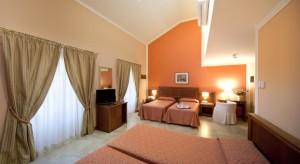 Hotel San Gottardo quadruple room