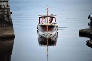 Wedding Casiraghi Borromeo boat