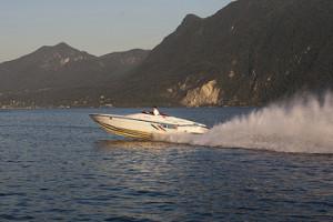 Off shore Lake Maggiore