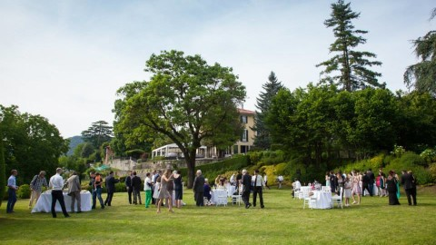 Villa Pestalozza Lake Orta Wedding Location