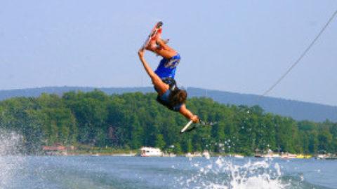 Water sports Lake Maggiore