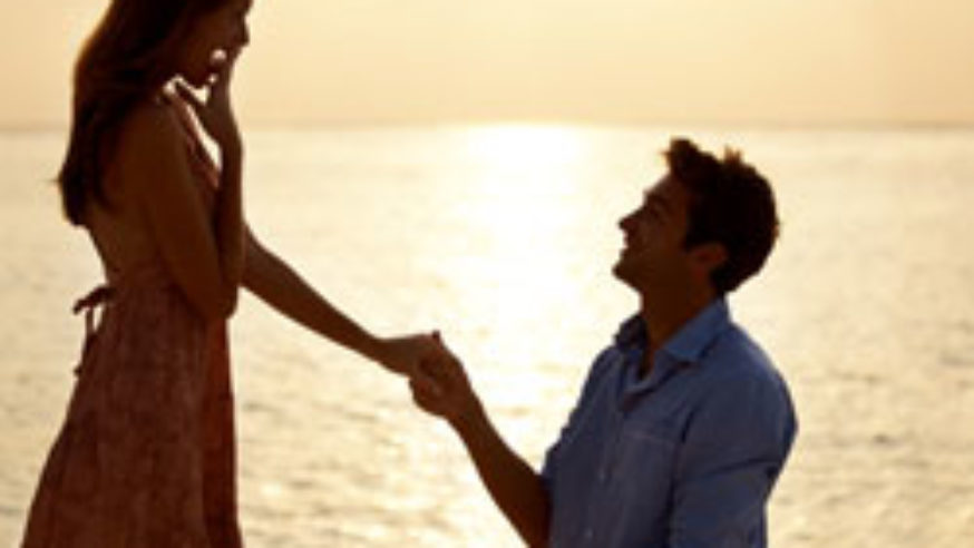 Wedding proposal Italian Lakes