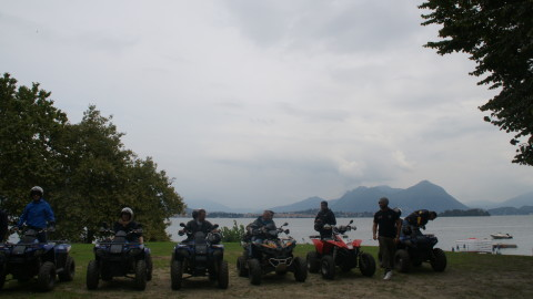 Quad Tours on Lake Maggiore