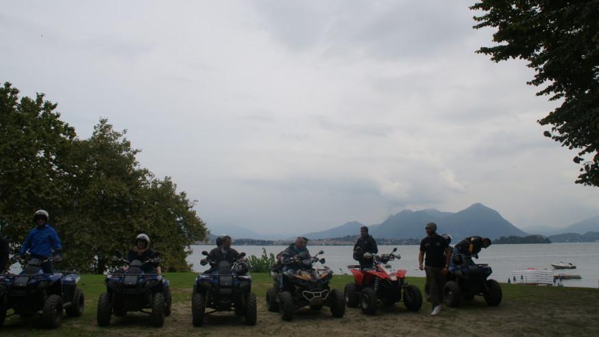 Quad Tours on Lake Maggiore