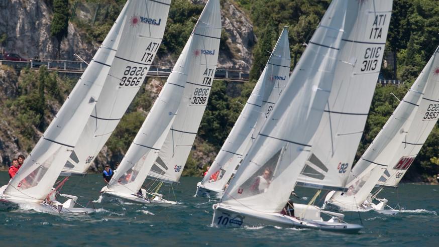 Sailing regattas on Lake Maggiore