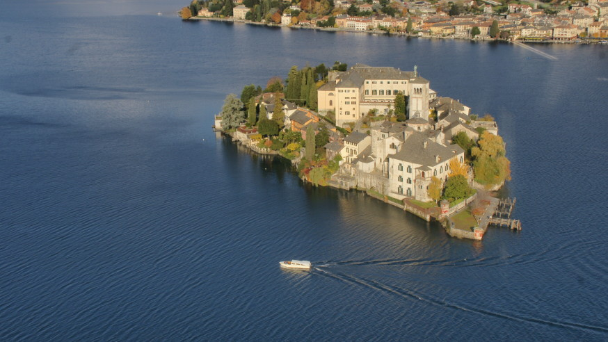 Island of San Giulio Lake Orta