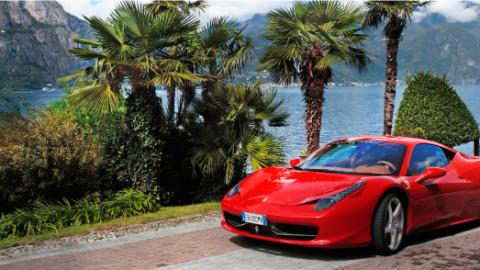 Driving around Lake Maggiore