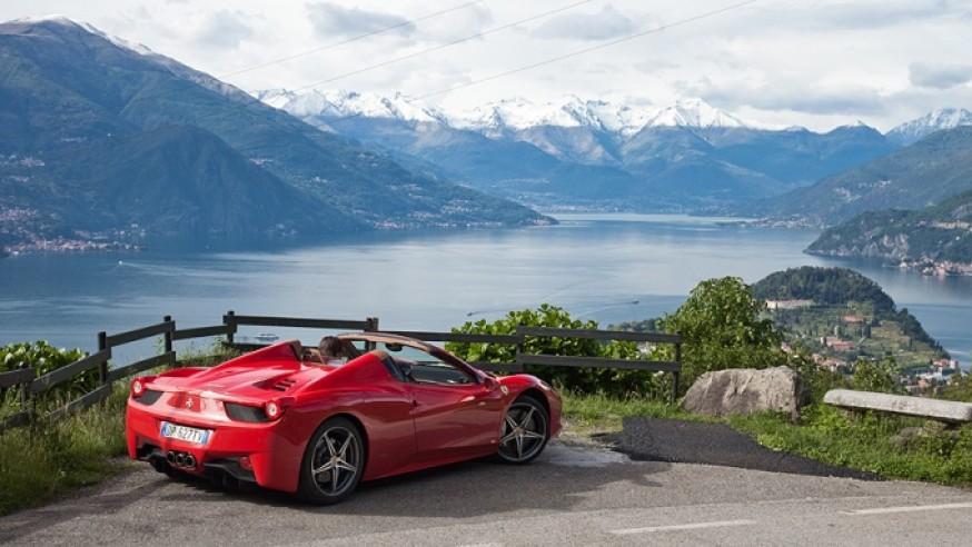 Lake Maggiore Ferrari Tour