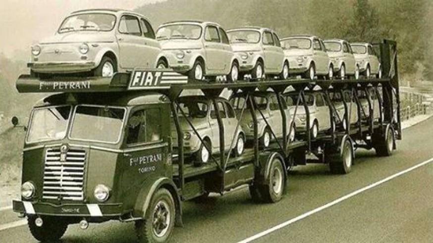 Fiat 500 vintage car tour Lake Maggiore