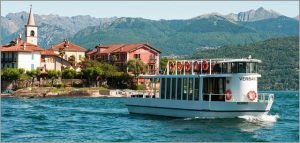 Private boat hire lake Maggiore