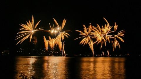 Lake maggiore corporate fireworks
