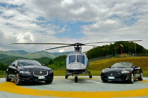 Lugano helicopter transfer