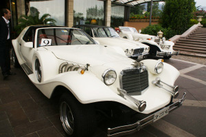 Vintage car tour Lake Lugano