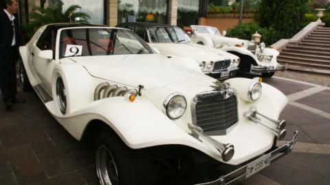 Vintage car tour Lake Lugano