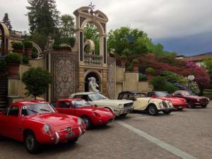 Rally tour on Lake Maggiore