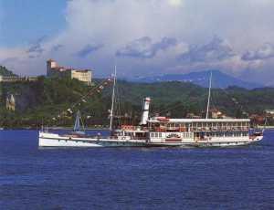 Motonave Piemonte corporate cruise lake maggiore