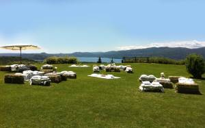 villa lake maggiore country chic event, gala dinner 200 guests, marquee 200 guests