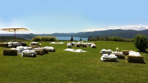villa lake maggiore country chic event