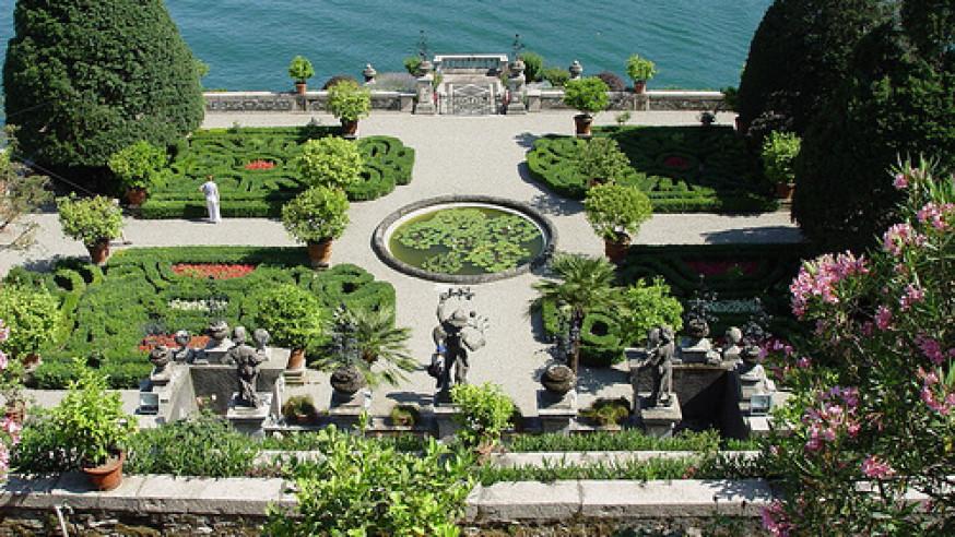 Garden tours on Lake Maggiore for EXPO
