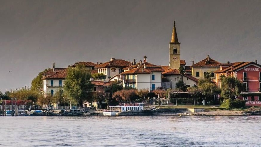 The most beautiful lake in the world is Lake Maggiore