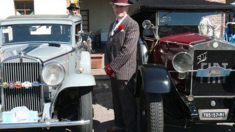 Vintage Cars in Stresa